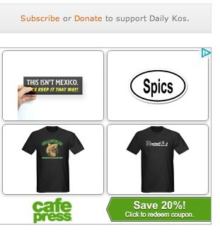 "Latino Rebels | Who's Responsible for Racist ""SPICS"" Ads on @DailyKos Site?"