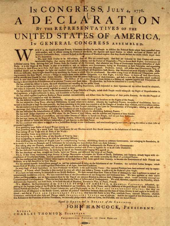 Latino Rebels | The Declaration of Independence: The Full Text in ...