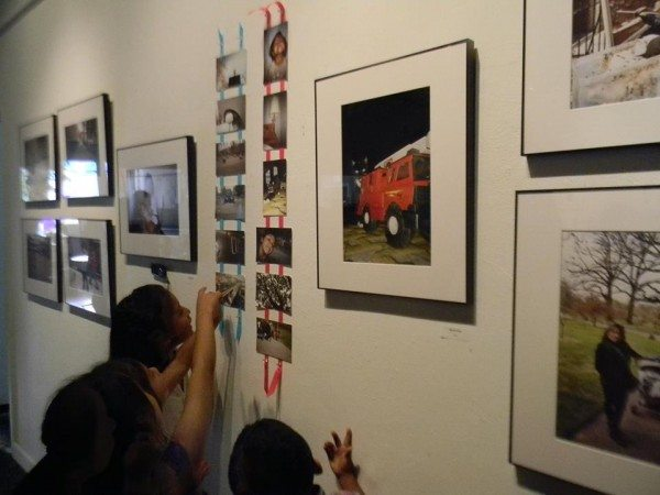 Children and their parents recognize themselves in the images.