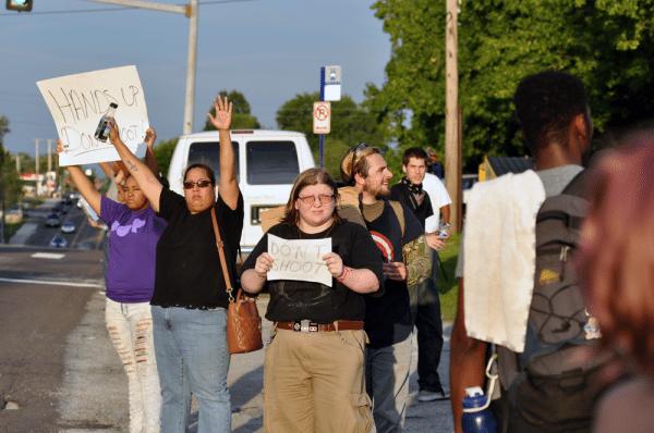 Ferguson, Missouri, August 15, 2014 (CREDIT: Loavesofbread)