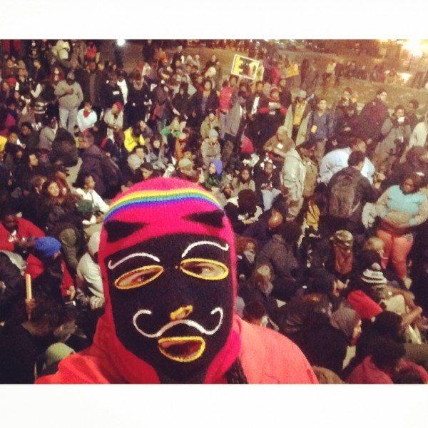 @RodrigoStarz at #FergusonOCtober