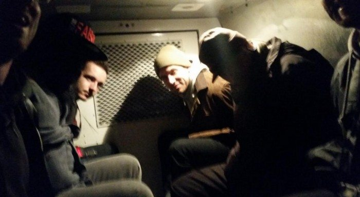 Arrested Paddy Wagon