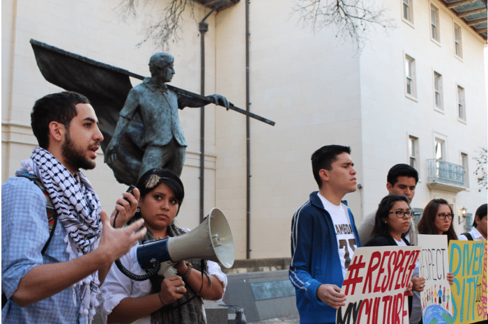 Speakers share personal stories of religious bias at UT (Cassandra Jaramillo)