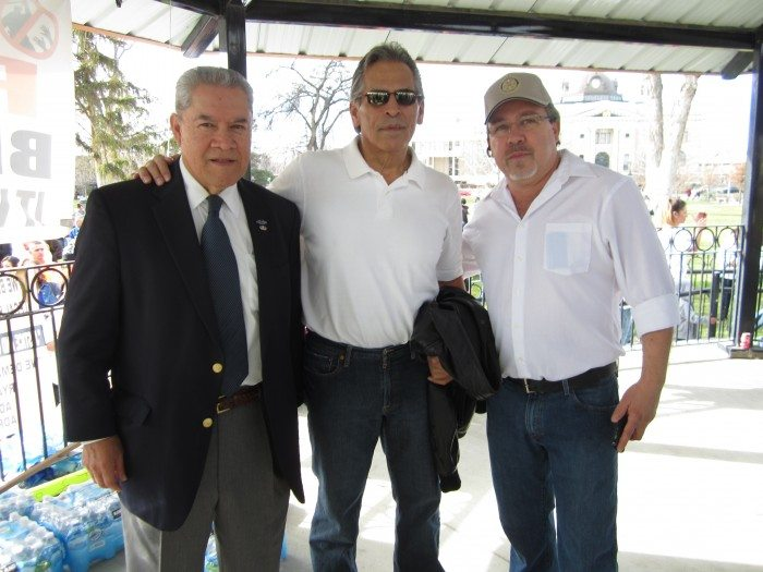 (L-R: Felix Vargas, Rick Rios, Eddie De La Cruz, February 14, 2015)