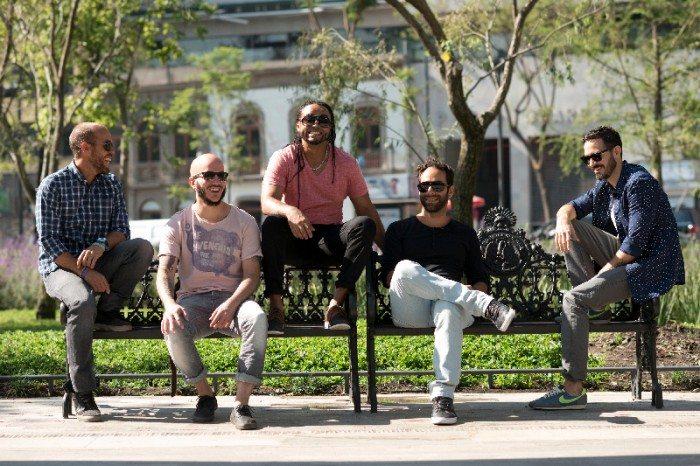 Cultura Profética (l-r) Eliut González, Willy Rodríguez, Boris Bilbrau, Omar Silva, Juan Carlos (Photo by Alex Díaz)