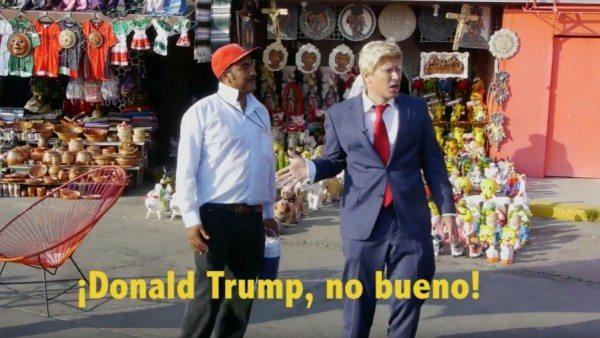 Donald Trump Mexico impersonation