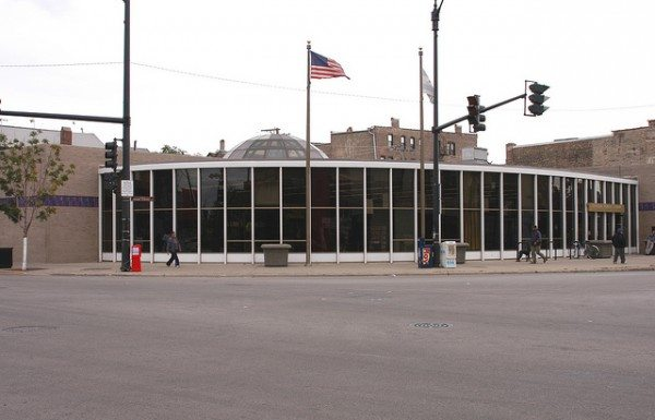 Rudy Lozano Branch of the Chicago Public Library (Daniel X. O'Neil/Flickr)
