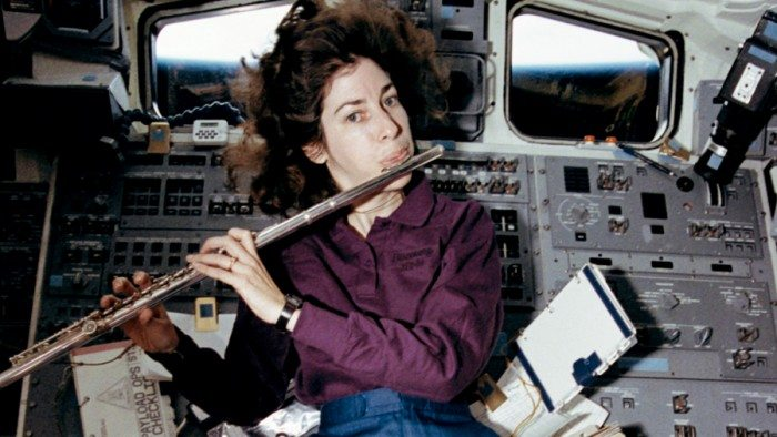 Ellen Ochoa, the first Latina to go into space and the first Latino director of the Johnson Space Center (NASA)