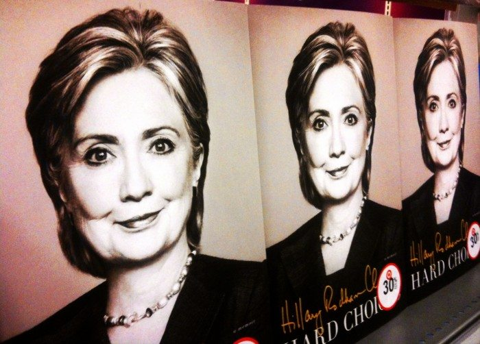 Former New York senator, secretary of State and first lady Hillary Clinton (Mike Mozart/Flickr)