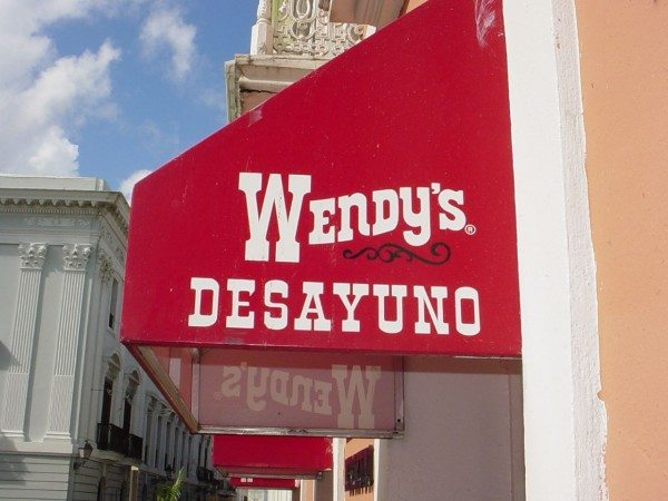 A Wendy's in Puerto Rico (Counselman Collection/Flickr)