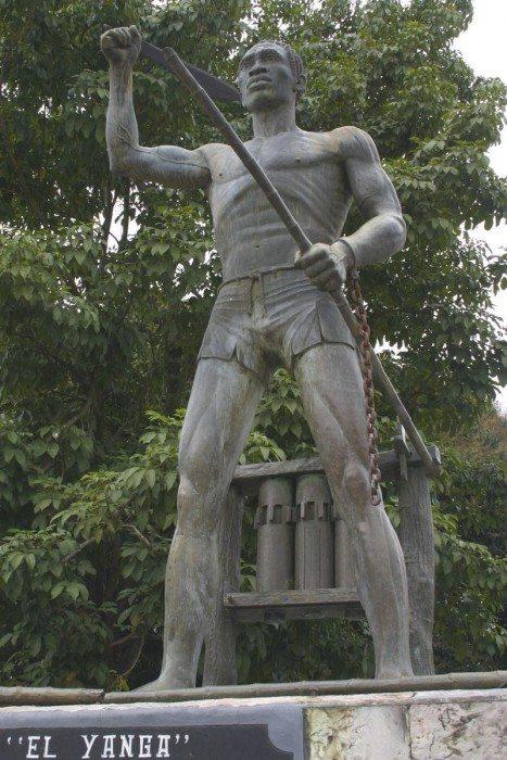 Gaspar Yanga, leader of a successful slave revolt in Mexico