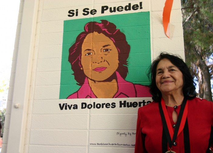 Dolores Huerta, civil rights leader (Pitzer College/Flickr)
