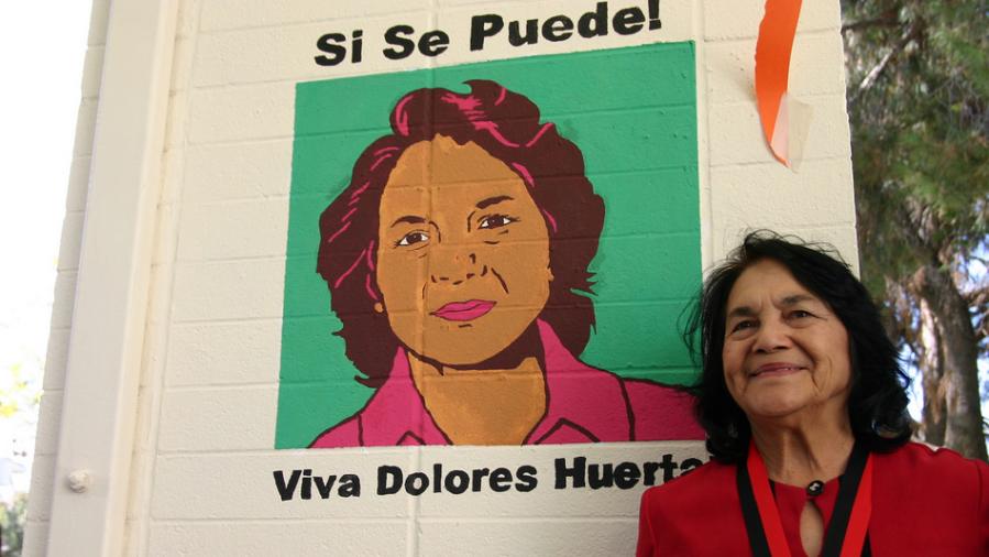 Cesar Chavez Celebration with Dolores Huerta