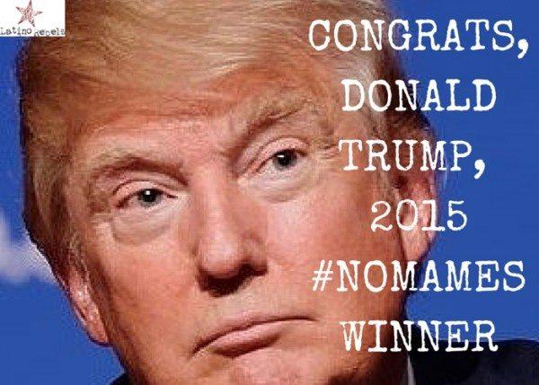DonaldTrumpNoMames Winner