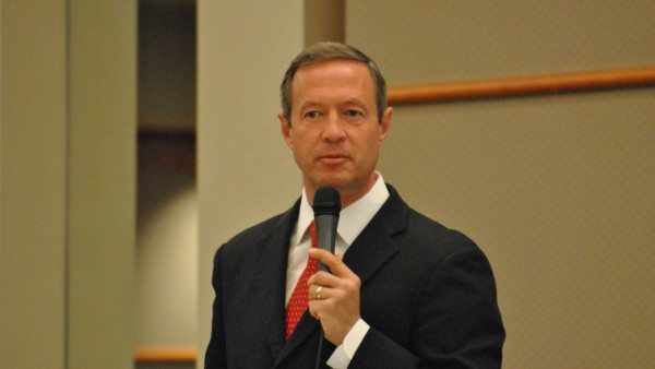 Martin O'Malley, former mayor of Baltimore and governor of Maryland, and current Democratic presidential candidate (Edward Kimmel/Flickr)