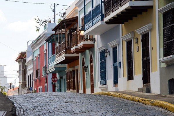 While walking along Norzagaray Street in Old San Juan, Puerto Rico (Harvey Barrison/Flickr)