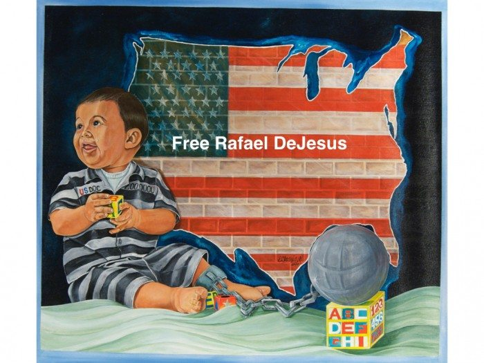 Artwork by Rafael De Jesus, imprisoned for the last 22 years for non-violent drug crimes (Free Rafael DeJesus)