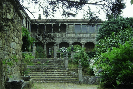 A typical pazo in Galicia, Spain