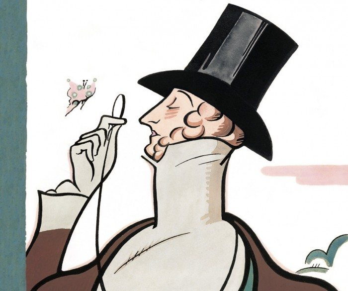 """Eustace Tilley,"" by Rea Irvin (New Yorker)"