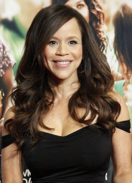 Actress, choreographer and TV host Rosie Perez