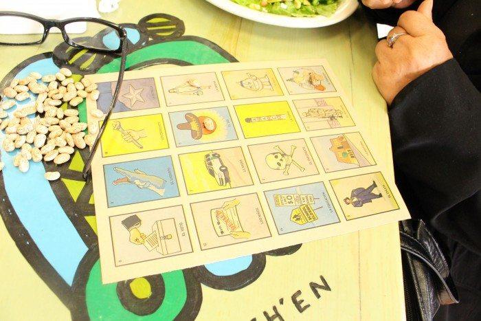 A Votería board (Photo: Maria Esquinca)