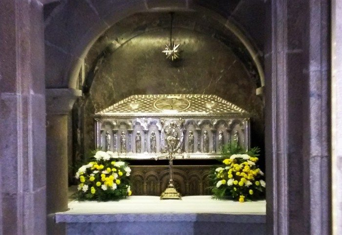 The tomb of Santiago, apóstol