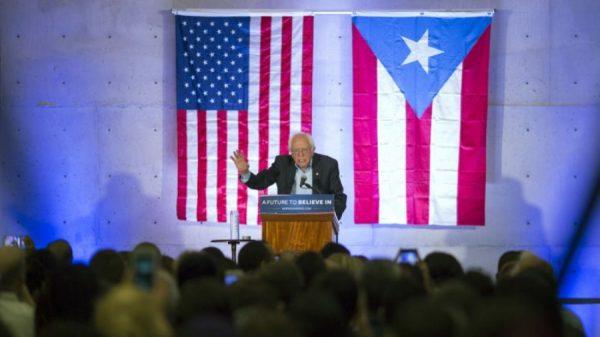 Democratic candidate Bernie Sanders delivers speech in San Juan, Puerto Rico (Eric Rojas/El Vocero)