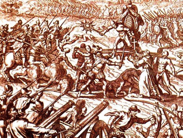 Inca-Spanish_confrontation
