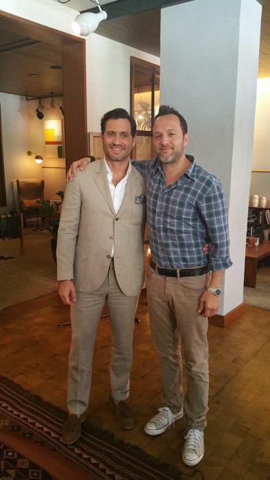 Jay Weisleder an Edgar Ramírez (photo by Daniel Rivera)