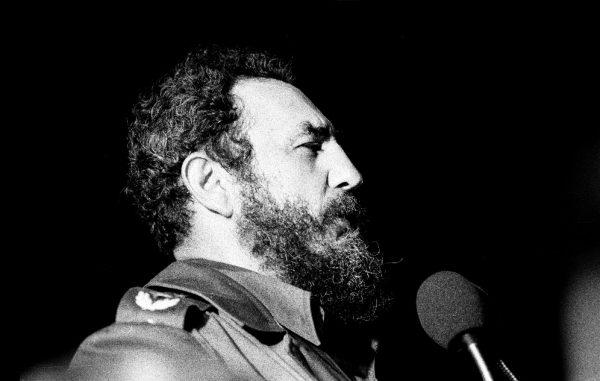 Castro speaking in 1978 (CREDIT: Marcelo Montecino)