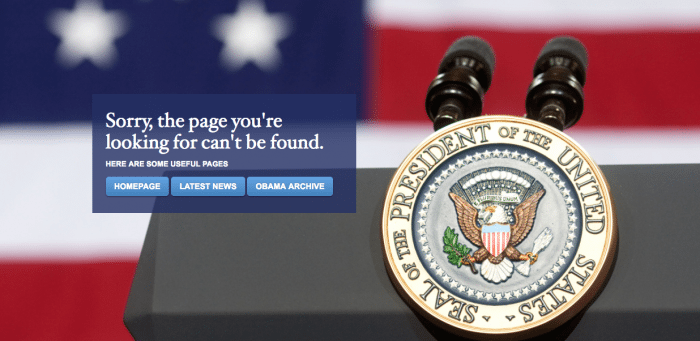 😡 Latino Rebels | White House Site Goes 'English Only,' Saying Adios to Español (For Now)